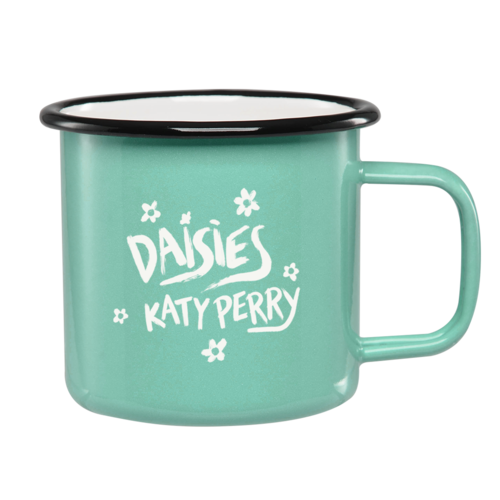 Katy Perry: Daisies Enamel Mug + Forthcoming Digital Album