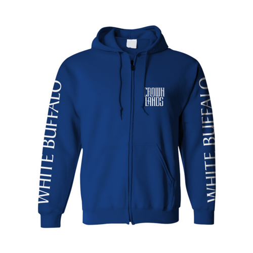 Crown Lands: White Buffalo Hoodie - Small