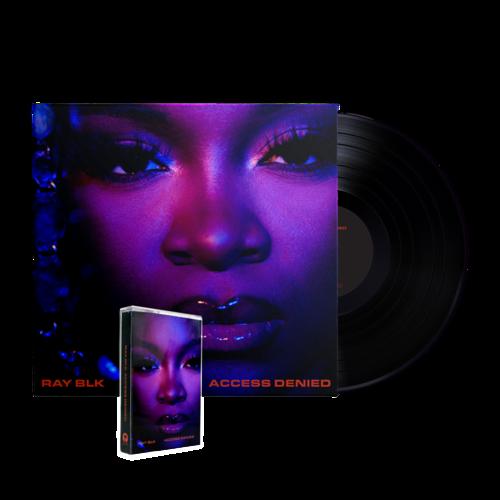 RAY BLK: Access Denied, Vinyl + Cassette Bundle