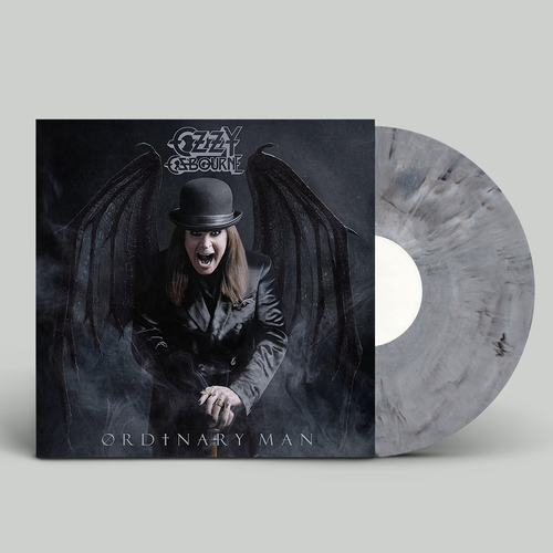 Ozzy Osbourne: Ordinary Man: Limited Edition Black, White + Grey Marble Vinyl