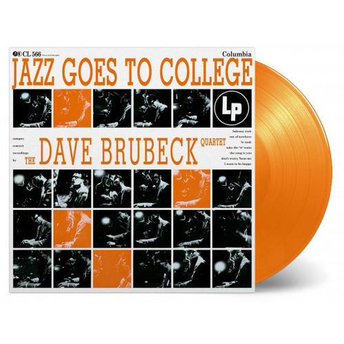 The Dave Brubeck Quartet: Jazz Goes To College: Limited Edition Orange Vinyl
