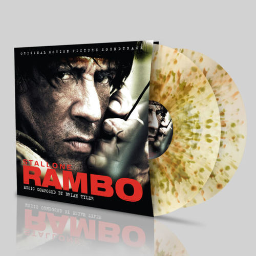 Brian Tyler: Rambo: Splatter Vinyl