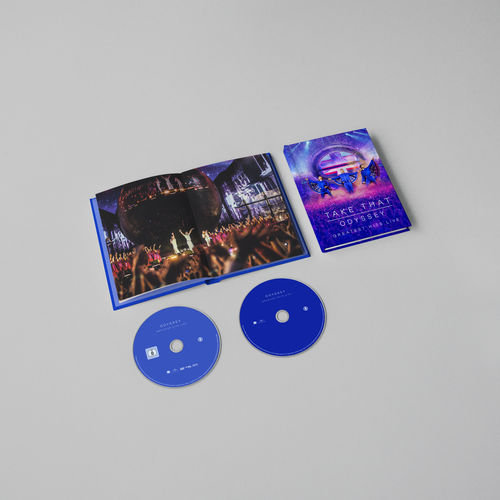 takethat: ODYSSEY GREATEST HITS LIVE LIMITED EDITION DVD + CD