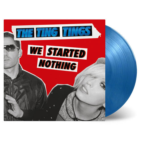 The Ting Tings: We Started Nothing: Blue + Silver Numbered Vinyl