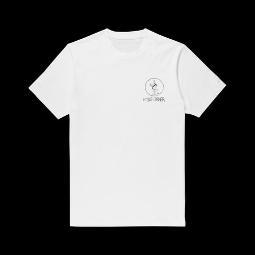 Loyle Carner: White Logo T-Shirt