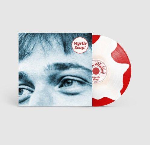 John Myrtle: Myrtle Soup: Recordstore Exclusive Signed Red & White Splodge Vinyl + A5 Lyric Booklet