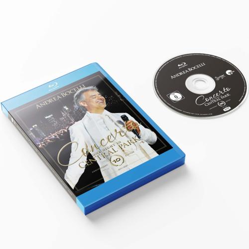 Andrea Bocelli: Concerto: One Night In Central Park - 10th Anniversary Edition Blu-Ray