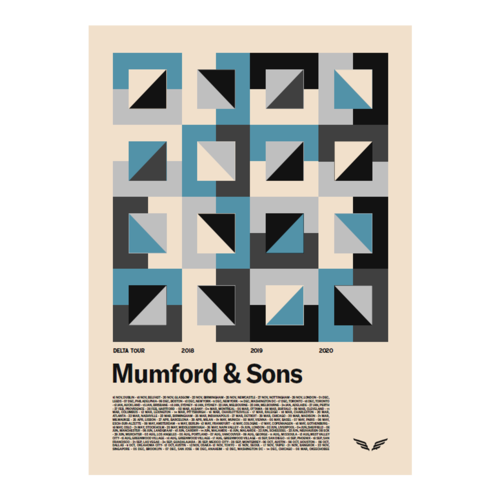 Mumford & Sons : Delta Screenprint