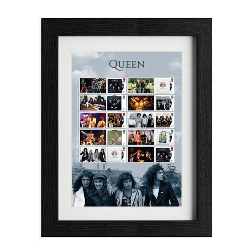 Queen: Framed Album Covers Collector's Sheet