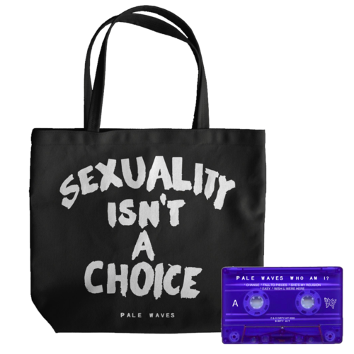 Pale Waves: Black Tote + Cassette