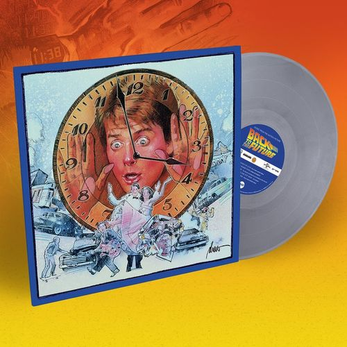 Various Artists: Back To The Future [Music From The Motion Picture]: 180gm Silver Vinyl