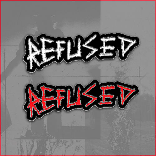 Refused: Refused Logo Enamel Badge Set