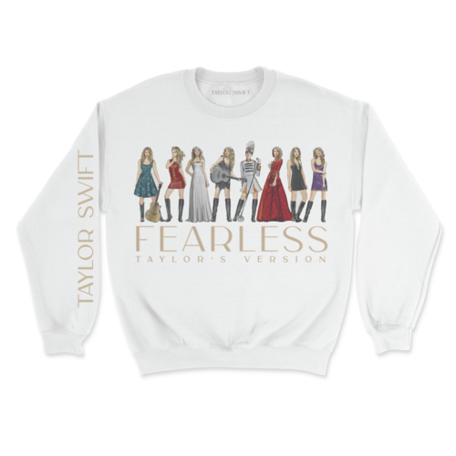 Taylor Swift: Fearless (Taylor's Version) Eras Collection Pullover