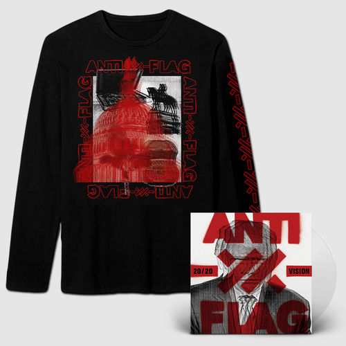 Anti-Flag: Clear Vinyl And Long T-Shirt Bundle