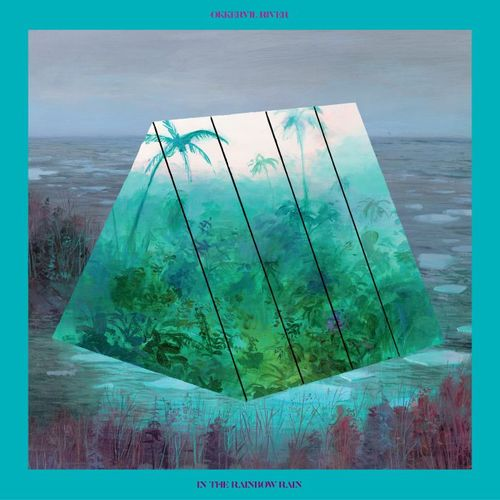 Okkervil River: In The Rainbow Rain: Opaque Blue & Purple Swirl marbled vinyl