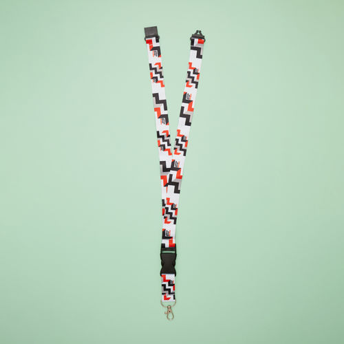 Abbey Road Studios: Abbey Road Geometrics Lanyard