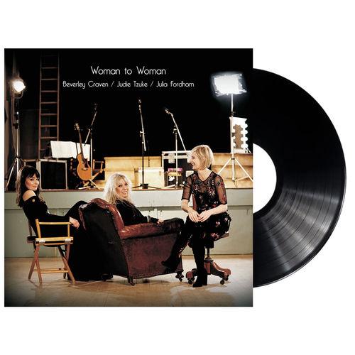 Judie Tzuke, Beverley Craven, Julia Fordham: Woman To Woman - Vinyl