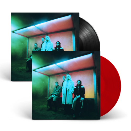 Wolf Alice: Blue Weekend: Limited Edition Transparent Red Vinyl, Black Vinyl + Signed 12x12