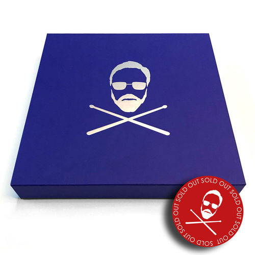 Roger Taylor: Roger Taylor Signed Drum Head Box Set