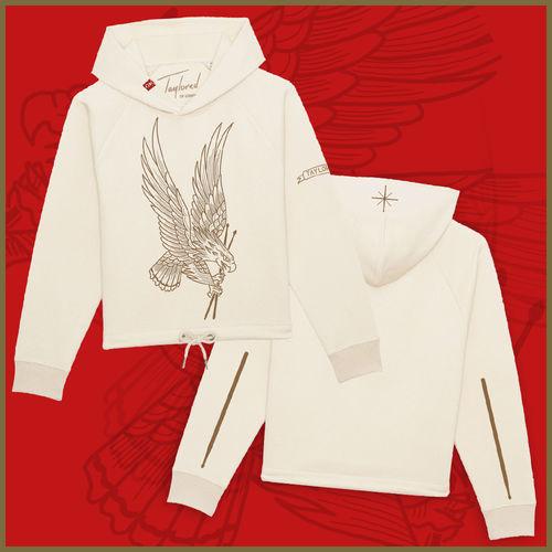 Roger Taylor: 'Taylored' Freedom Eagle Cropped Natural