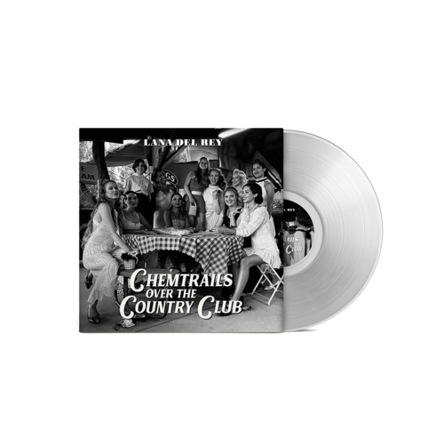 Lana Del Rey: Chemtrails Over The Country Club Gatefold Transparent Vinyl - STORE EXCLUSIVE