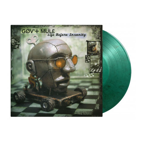 Gov't Mule: Life Before Insanity: Limited Edition Green & Black Swirled Vinyl