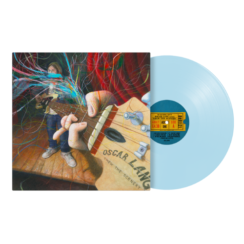Oscar Lang: Chew The Scenery Ice Blue Vinyl - DH Store Exclusive