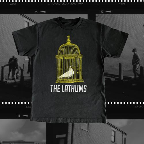 The Lathums: Black Album Tee