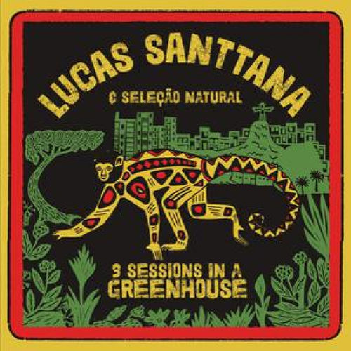 Lucas Santtana: 3 Sessions In A Greenhouse: Limited Edition Red Vinyl LP