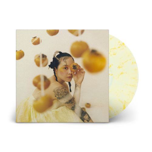 Japanese Breakfast: Jubilee: Clear + Yellow Swirl Vinyl