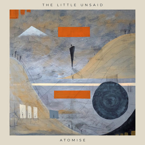The Little Unsaid: Atomise: Limited Deluxe Edition Amber Vinyl + CD with Signed Art Print