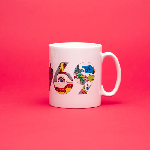 Abbey Road Studios: The Beatles Yellow Submarine 1969 Mug