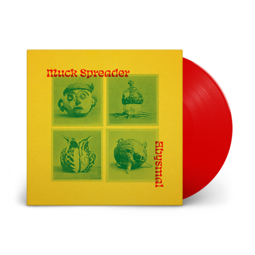 Muck Spreader: Abysmal EP: Signed Cherry Red Vinyl