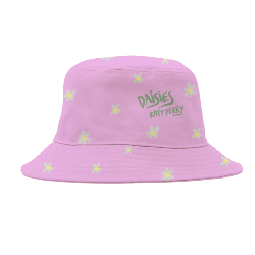 Katy Perry: Daisies Bucket Hat Pink