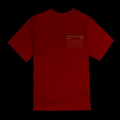 Dermot Kennedy: Orbit Tee: Cardinal Red