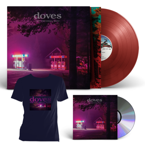 Doves: The Universal Want CD + Exclusive LP + T-Shirt
