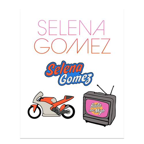 SelenaGomez: Dance With Me Pin Set