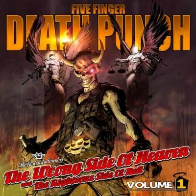 Five Finger Death Punch: The Wrong Side Of Heaven & The Righteous Side Of Hell - Vol 1 & 2: Clear Vinyl