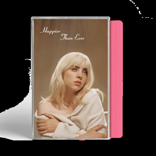 Billie Eilish: 'Happier Than Ever' Exclusive Pink Cassette
