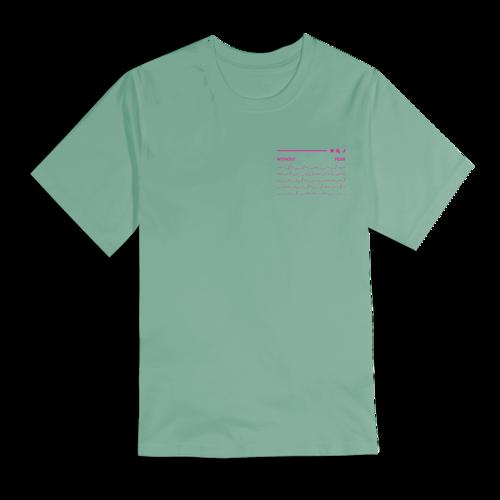 Dermot Kennedy: Orbit Tee: Pastel Green