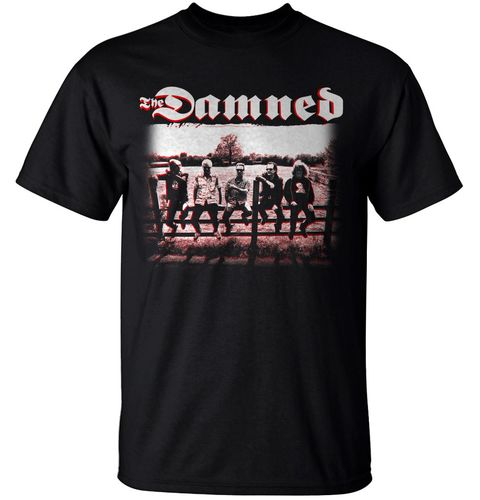 The Damned: Rockfield Band Image T-Shirt