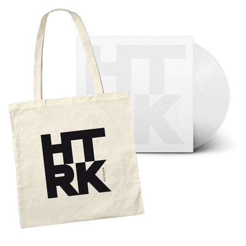 HTRK: Nostalgia: Limited Edition White Vinyl + Exclusive Canvas Tote Bag