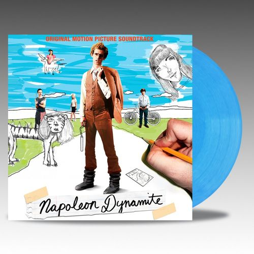Various Artists: Napoleon Dynamite: Original Motion Picture Soundtrack: Electric Light Blue Vinyl