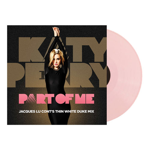 Katy Perry: Part Of Me - Thin White Duke Remix (Pink Vinyl)