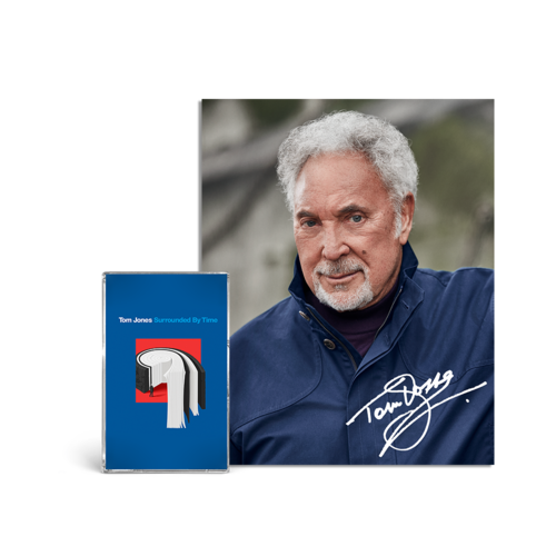 Tom Jones: Surrounded by Time Cassette & Signed Photo Print