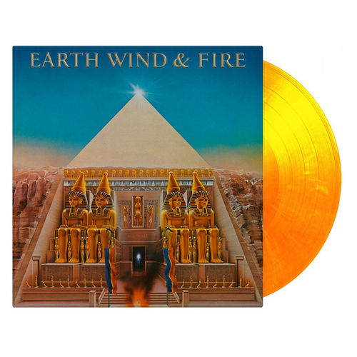 Earth, Wind & Fire: All n' All: Flaming Orange + Yellow Mixed Numbered Vinyl