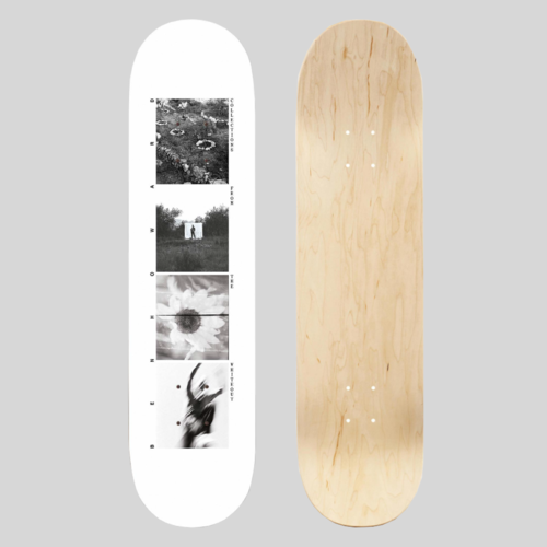 Ben Howard: Collections From The Whiteout: White Skatedeck 8.25