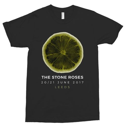 The Stone Roses: X-Ray Lemon Leeds T-Shirt