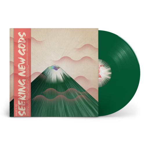 Gruff Rhys: Seeking New Gods: Dark Green Vinyl LP + Signed Postcard