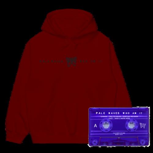 Pale Waves: Maroon Hoodie + Cassette